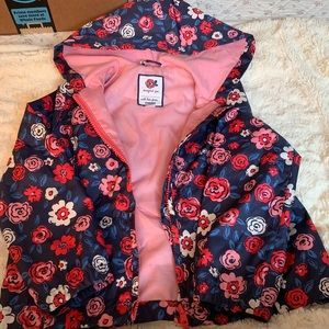 Gymboree Girls Spring Rose Wind Breaker